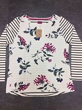 JOULES WOMENS TOP UK (14) BRAND NEW,HARBOUR FLORAL HEDGEROW,JERSEY,LONG SLEEVE