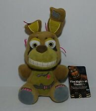 """Five Nights At Freddy's SPRINGTRAP 6"""" Plush Stuffed FNAF Authentic NEW w/ Tag"""