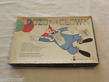VINTAGE TOY GAME  1963 LARRY HARMON'S TV BOZO THE CLOWN COLORFORMS