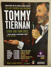 TOMMY TIERNAN Australian Tour Poster 2013 A2 Father Ted Small Potatoes ***NEW***