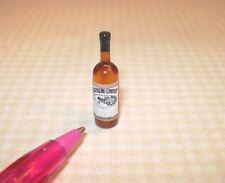 Miniature Single Liquor Bottle For the DOLLHOUSE Bar #11, 1/12 Scale Miniatures
