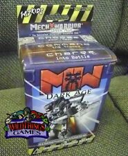 MECHWARRIOR x1 BOOSTER PACK Dark Age FACTORY SEALED 2002 ~BATTLETECH COLLECTABLE
