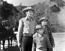 Chuck Connors, Johnny Crawford, Paul Fix - The Rifleman -  8 1/2 X 11