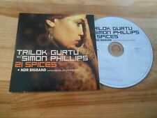CD Ethno Trilok Gurtu - 21 Spices (7 Song) Promo MIG ART OF GROOVE cb