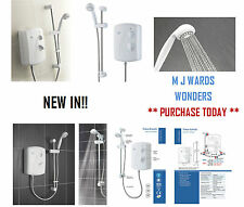 Triton Enrich Manual Electric Shower White 9.5kW - Easy Install