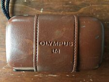 OLYMPUS Stylus Epic LT-1, 35mm F3.5 Leather, WORKS GREAT