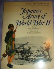JAPANESE ARMY OF WORLD WAR II - OSPREY