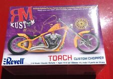 Revell Custom Chopper RM Kustoms Torch Motorcycle Model 1:12 Factory Sealed