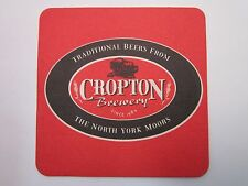 Beer Bar Coaster ~ CROPTON Brewery ~ Traditional Beers From the North York Moors