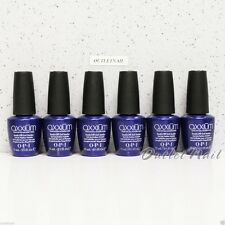LOT 6 OPI Axxium Soak Off Gel Sealer UV Blue Top Coat Set 15ml/0.5oz    Ship 24H