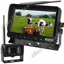 "DIGITAL BACK UP CAMERA SYSTEM 7"" WIRELESS REAR VIEW LCD, NO INTERFERENCE"