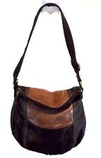 The Sak Women's Handbag Hobo Brown Shoulder Bag Purse, Medium Leather
