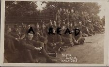 Soldier Group 2nd Scots Guards resting route march Bovingdon Green Camp Marlow