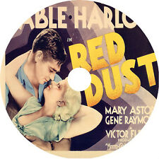 RED DUST DVD Clark Gable Jean Harlow Mary Astor pre-code V Rare 1932