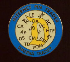 Disney Fantasy LE pin -  INTERNET PIN TRADER  WANNA TRADE? DISNEY SCRIPT D Pin