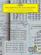 Recomposed By Max Richter Vivaldi The Four Seasons VIOLIN PIANO Music Book