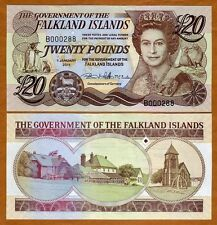Falkland Islands, 20 pounds, 2011 (2012;2014) P-19, QEII, UNC