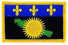 Parche bandera PATCH GUADALUPE 7x4,5cm bordado termoadhesivo nuevo