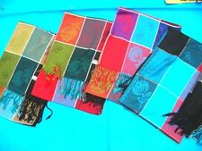 wholesale pashmina shawls 5 pcs checker grid scarf lot*Ship From US/Canada*