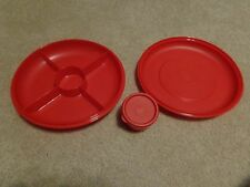 Tupperware Small Serving Center & Dip Cup entertainment Party.
