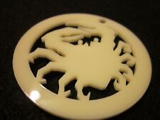 L5R [Ivory] Honor Counter [Face Plate] Crab Clan in Ivory