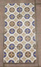 """Rare Antique Victorian Minton's Pottery Encaustic Floor Tile x 8 Eight 6x6"""""""