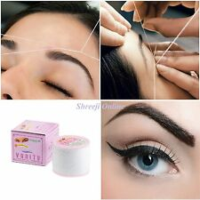3 x Antibacterial VANITY Eyebrow Threading Facial Hair Removal Cotton Threading