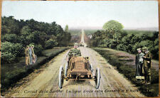 1906 Car/Auto Racing Postcard: French, 'Circuit de la Sarthe' #190