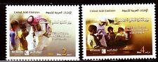 UAE 2006 ** Mi.843/44 Tag der freiwilligen Helfer   Int. Volunteering Day