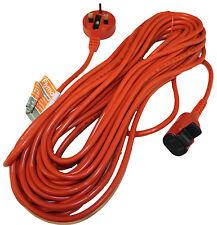 FLYMO Original 15 Metros Cable De Energía Red Doméstica & Tapones FLY102