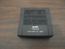 ZyXEL Communication Corporation P-600 Series P-660M-D1 Black Modem 32308