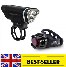 Front blackburn 50 led + rear ruby light set - bright bike lights flashing focus