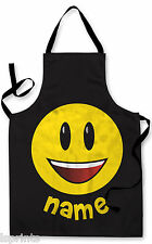 PERSONALISED EMOJI CHILDRENS APRON BAKING PAINTING WATER PLAY ARTS & CRAFTS