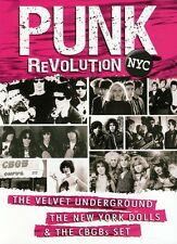Punk Revolution NYC: The Velvet Underground, the New York Doll (2012, DVD NIEUW)