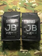 "Black Rifle Coffee Company ""Just Black"" Ground Coffee 2x 12oz. Bags"