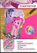 My Little Pony Birthday Party Invitations & More - 8 ct