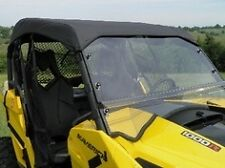 Soft TOP + Clear Lexan WINDSHIELD ~ CAN-AM MAVERICK 1000 ~ UTV Enclosures ~ New