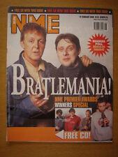 NME 2000 FEB 12 BRATLEMANIA BLUR FATBOY SLIM RYDER