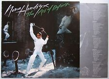 Nona Hendryx The Art Of Defense 1984 LP + Innerbag