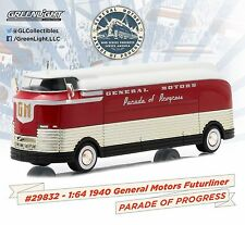 NEW! 1:64 Greenlight *HOBBY EXCLUSIVE* 1940 General Motors FUTURLINER *POP* NIB