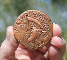 French contemporary medal; Celts, Andecaves, coin