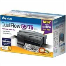Aqueon 06079 QuietFlow 55/75 Power Filter, 400-GPH, New, Free Shipping