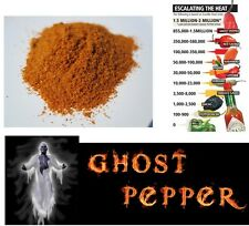10g POWDER dried ghost pod / bhut jolokia the hottest pepper in the world chili