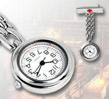 Brand New Nurse Watch High Quality Metal Stainless Steel Nurses Fob Watches