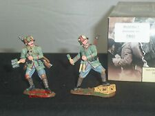 KING AND COUNTRY FW51 WORLD WAR ONE GRENADIER METAL TOY SOLDIER FIGURE SET