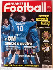 France Football du 17/2/1998; Le journal de la coupe du monde/ Barthez/ Bierhoff