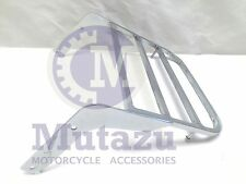 Heavy Duty Steel Luggage Rack for Kawasaki Vulcan VN 900 in Chrome finish