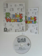 RUBIK'S PUZZLE WORLD - NINTENDO WII - COMPLET