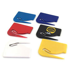 Mail Envelope Plastic Letter Opener Knife Office Equipment Safe Paper Guarded