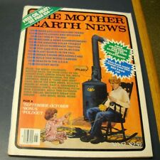 MOTHER EARTH NEWS MAGAZINE SEP/OCT 1978 EARTH LODGES & WICKIUPS PLANTING GARLIC